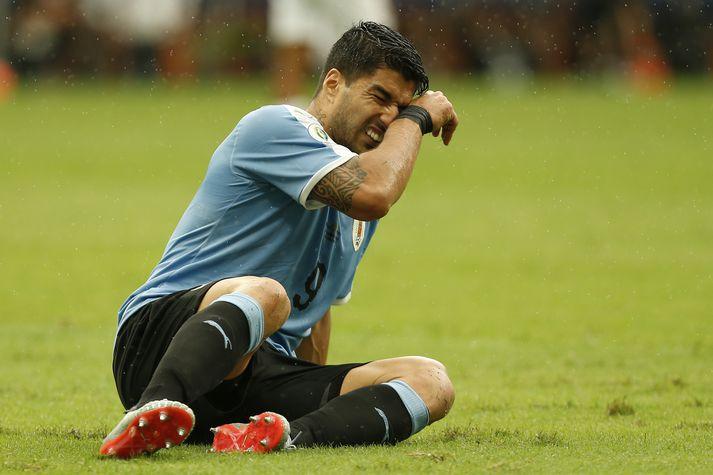Luis Suarez, framherji Úrúgvæ.