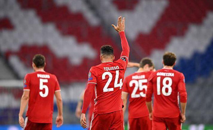 Evrópumeistarar Bayern verða í sviðsljósinu í kvöld.