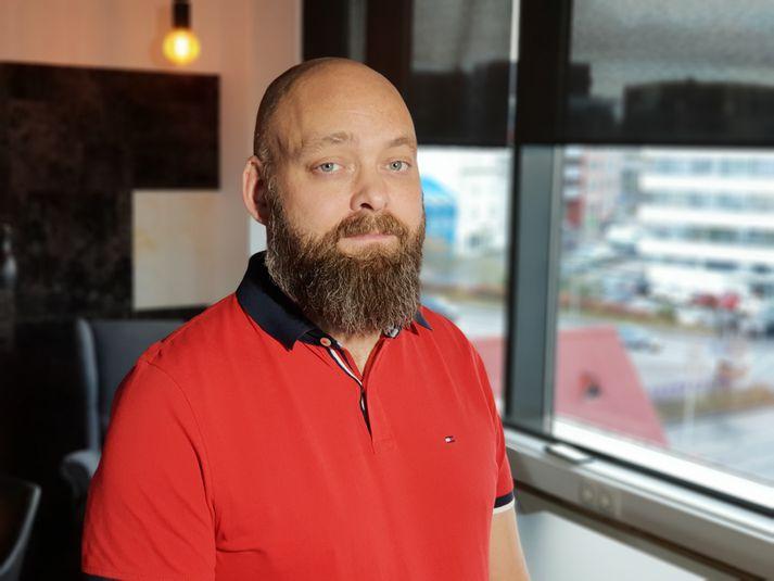 Daði Gunnarsson, rannsóknarlögreglumaður í netglæpadeild lögreglunnar á höfuðborgarsvæðinu.
