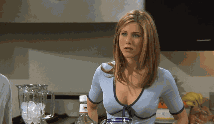Aniston lék Rachel í áratug.