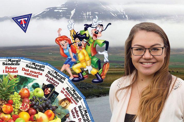 Eva Pandora Baldursdóttir, þingmaður Pírata.