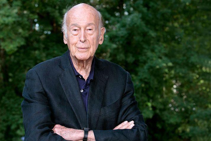 Valéry Giscard d'Estaing var Frakklandsforseti á árunum 1974 til 1981.