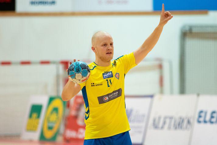 Jón Heiðar Sigurðsson, leikstjórnandi KA.