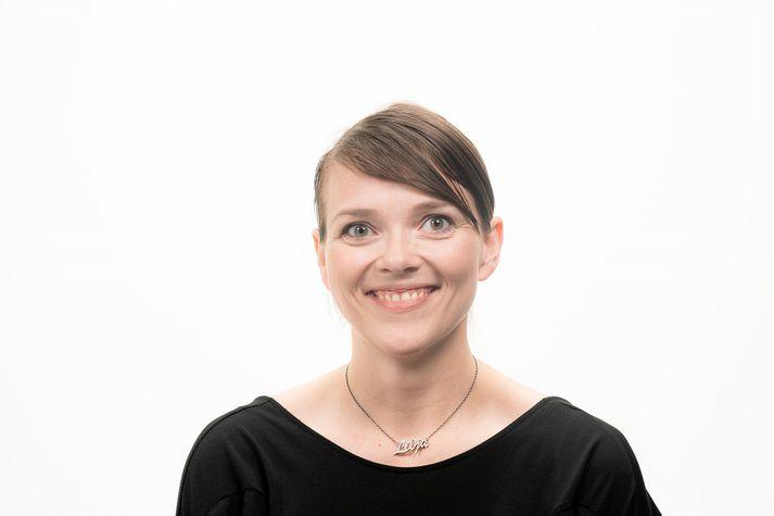 Lilja Katrín Gunnarsdóttir, nýráðinn ritstjóri DV.
