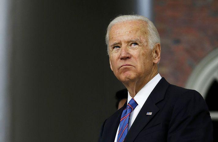 Biden hefur fram að þessu verið talinn líklegur til að verða forsetaframbjóðandi demókrata.