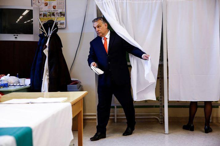 Viktor Orbán er umdeildur.