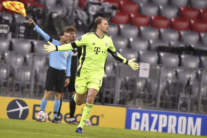 Neuer var frábær í liði Bayern í kvöld.