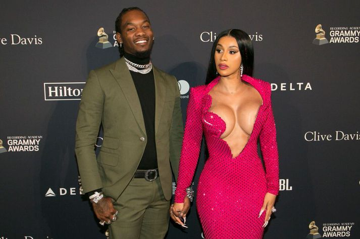 Offset og Cardi B giftust í september 2017.