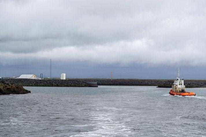 Herjólfur III siglir fjórar áætlunarferði í Landeyjahöfn í dag.