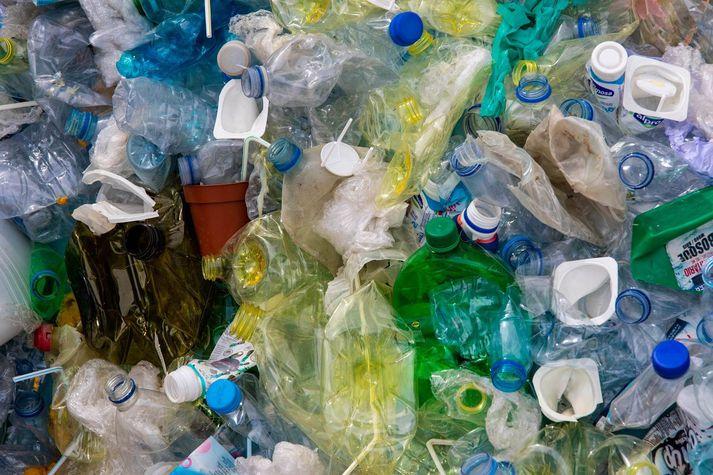 Plastmengun er víða vandamál
