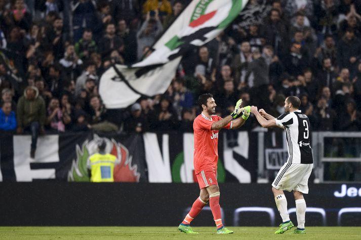 Þessir tveir verða áfram í herbúðum Juventus á næstu leiktíð.