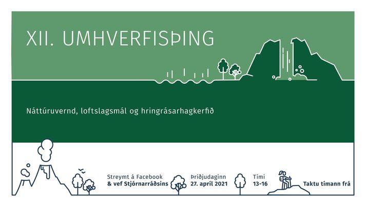 Þingið stendur milli klukkan 13 og 16 i dag og er öllum opið.