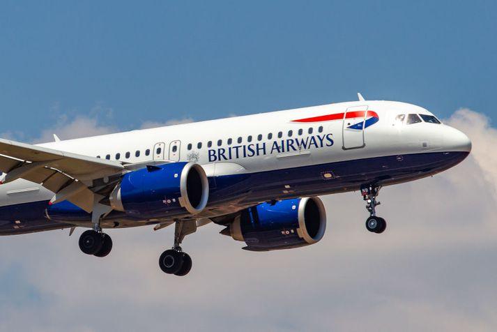 British Airways flýgur fimm sinnum í viku til Íslands yfir vor- og sumarmánuðina.