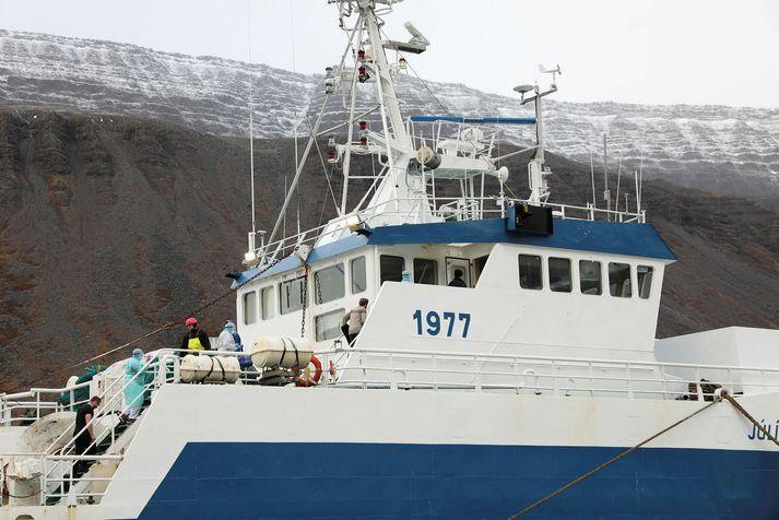 Júlíus Geirmundsson sem er í eigu Hraðfrystihússins Gunnvarar.