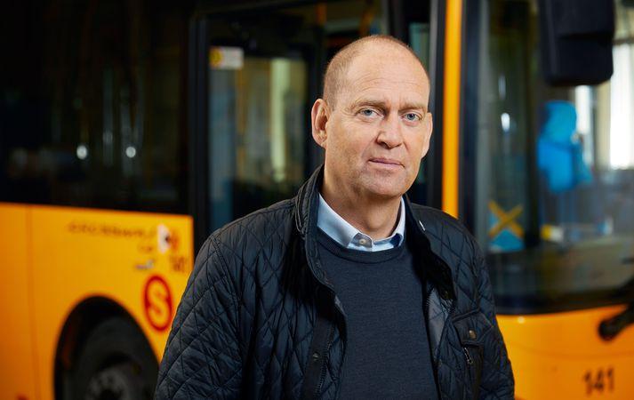 Jóhannes Svavar Rúnarsson, framkvæmdastjóri Strætó.
