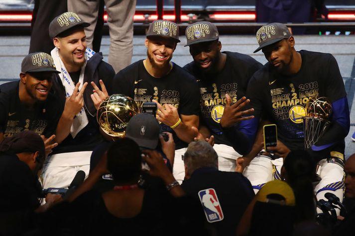 Golden State Warriors er á mikilli siglingu.