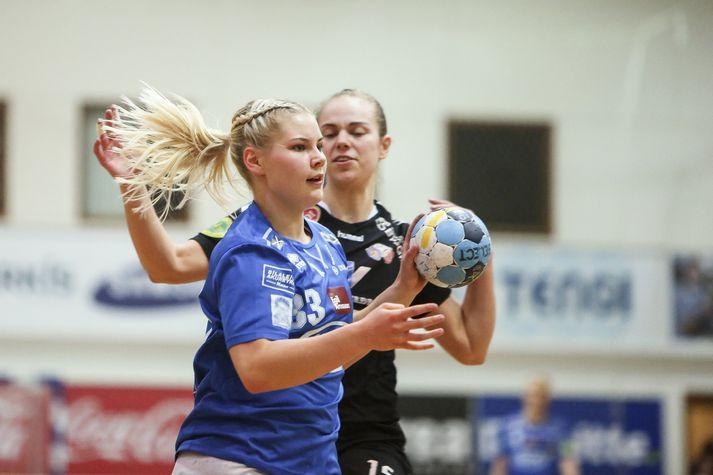 Lena Margrét skoraði 13 mörk gegn FH.
