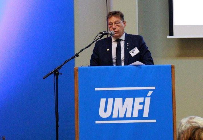 Haukur Valtýsson, formaður UMFÍ.