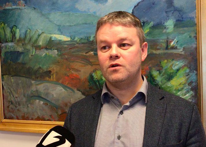 Sigfús Ingi Sigfússon, sveitarstjóri Skagafjarðar.