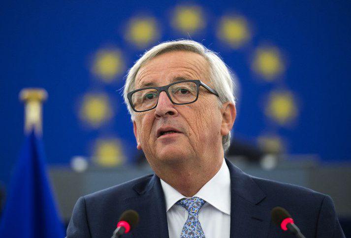 """Jean Claude Juncker lagði til að skapað yrði embætti """"fjármálaráðherra"""" sambandsins."""