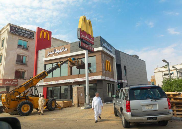 McDonald's veitingastaður í Jeddah.