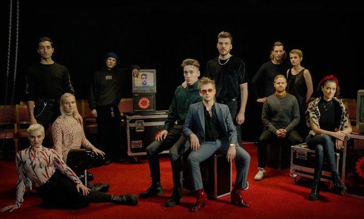 Eurovision-hópur Íslands 2019.