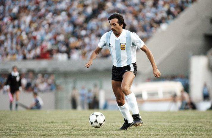 Leopoldo í leik gegn Brasilíu þann 4. janáur 1981.