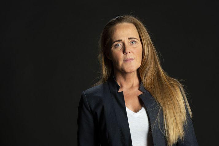 Alma Björk Hafsteinsdóttir, formaður Samtaka áhugafólks um spilafíkn.