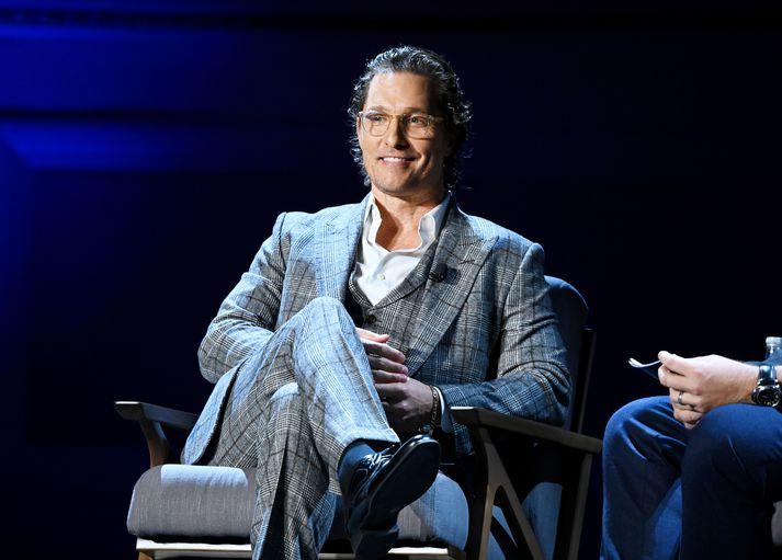 Matthew McConaughey reynir að finna jákvæðar hliðar á Covid.