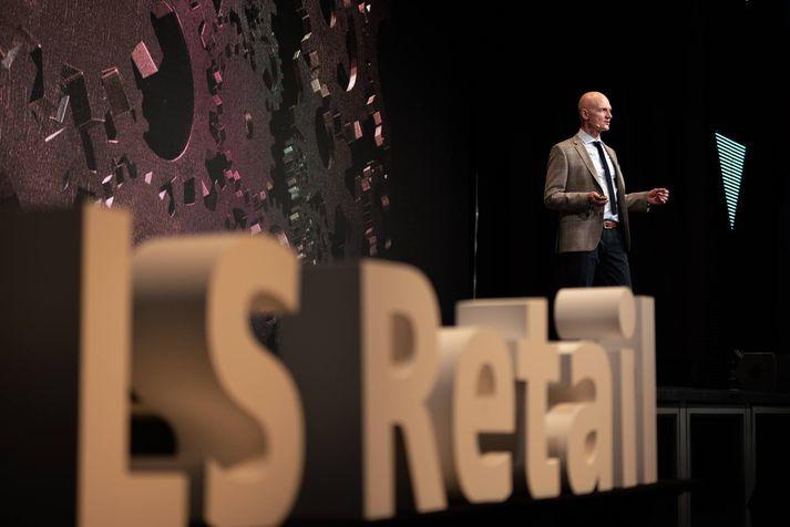 Magnus Norddahl, forstjóri LS Retail.