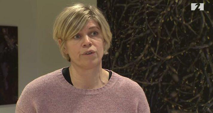 Hilma Hólm, læknir hjá Íslenskri erfðagreiningu.