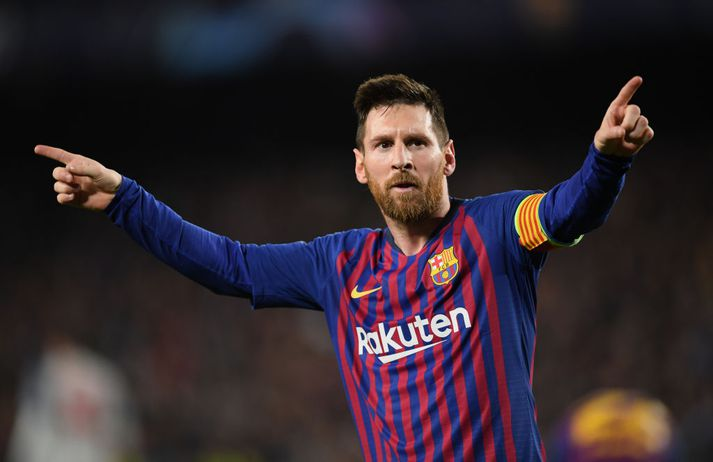 Messi hefur skorað mörg glæsileg mörk í treyju Barcelona.