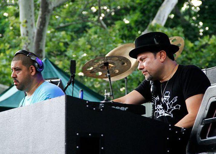 Kenny Dope Gonzalez og Louie Vega eru Masters At Work.