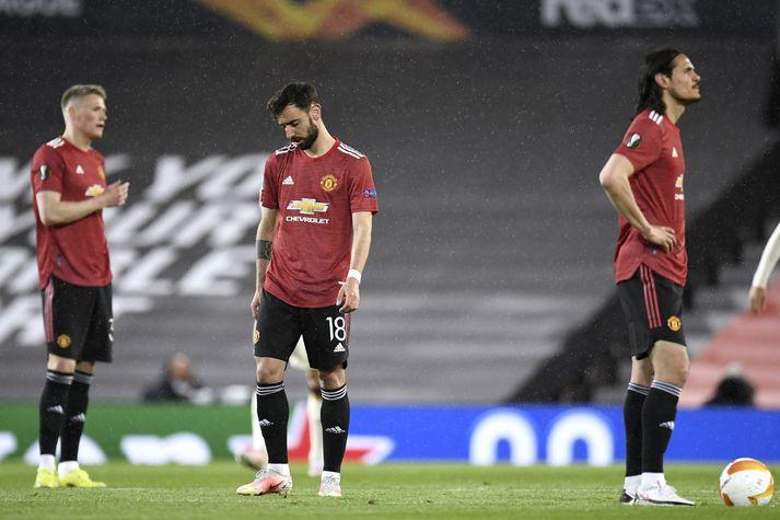 Ekki er vitað hvaða leikmenn Manchester United eru smitaðir en enska úrvalsdeildin hefst eftir tvær vikur.