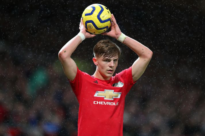 Brandon Williams er búinn að skapa sér nafn hjá Manchester United þar sem hann er alinn upp.