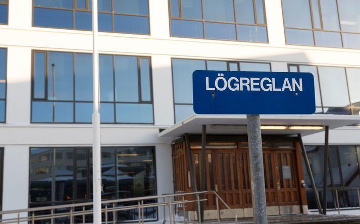 Komisariat policji w centrum Reykjaviku