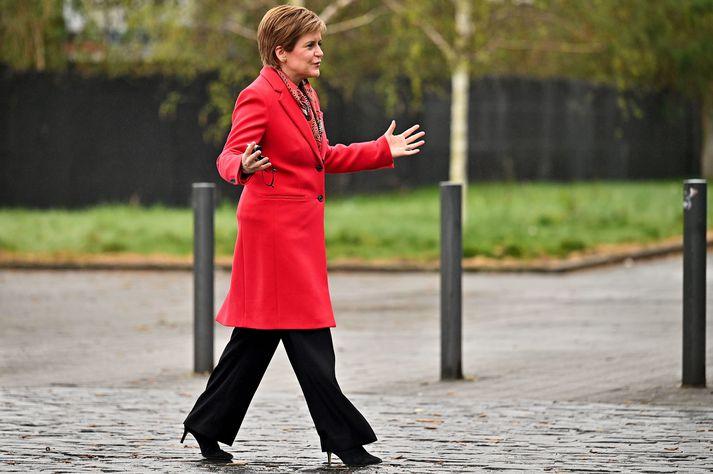 Nicola Sturgeon er fyrsti ráðherra Skotlands.
