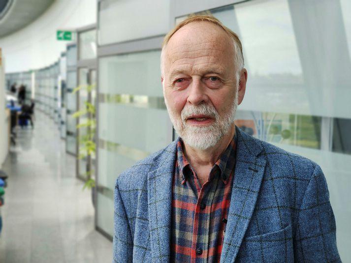 Páll Einarsson jarðeðlisfræðingur.