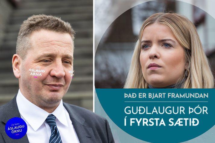 Filterar, rammar og borðar hjá Facebook og Instagram eru skemmtileg nýjung í kosningabaráttu.