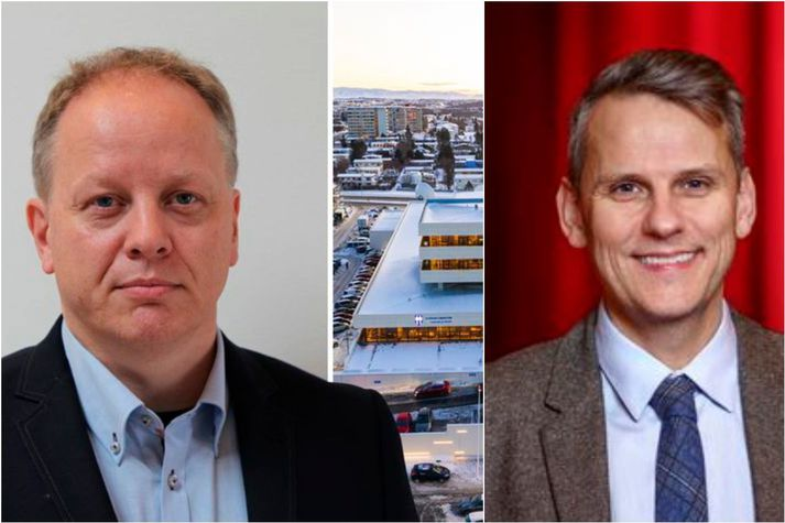 Stefán og Magnús Geir