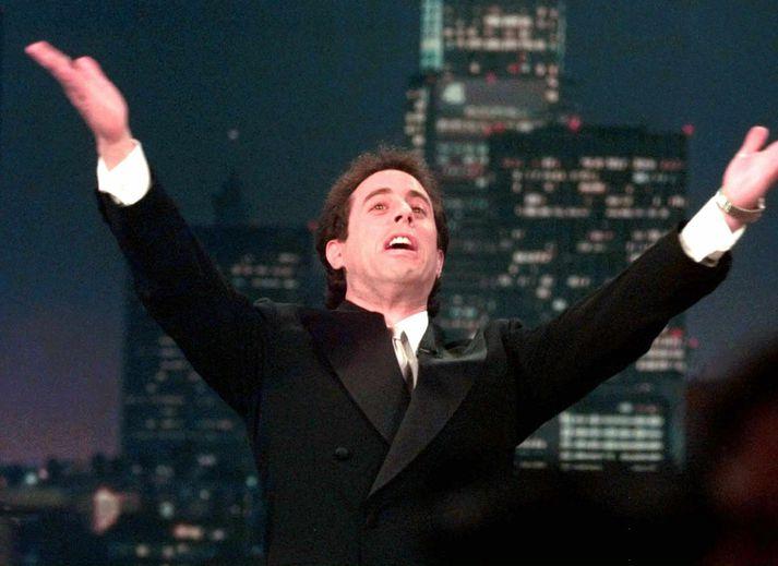 Jerry Seinfeld, aðalleikari og höfundur Seinfeld þáttanna.