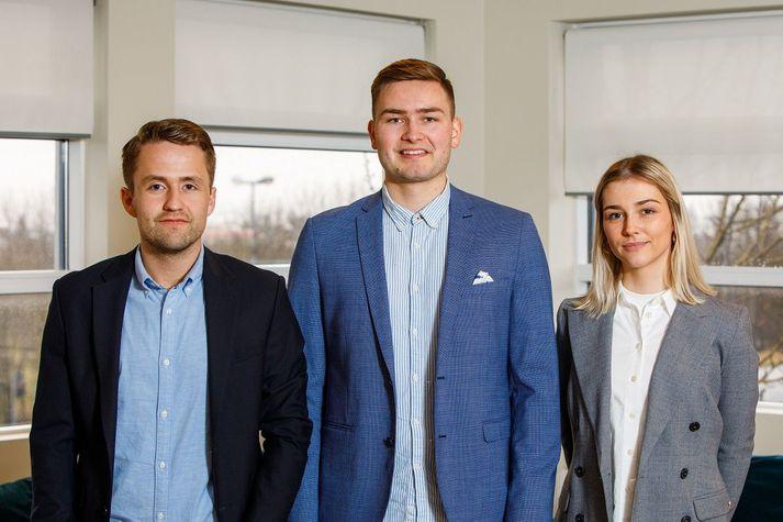 Helgi Logason, Hörður Kristinn Örvarsson og Edda Valdimarsdóttir Blumenstein