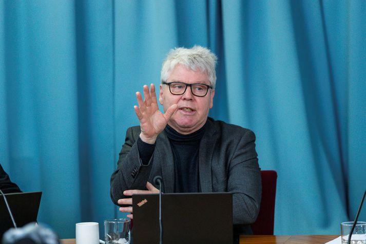 Guðmundur Andri Thorsson, þingmaður Samfylkingarinnar.