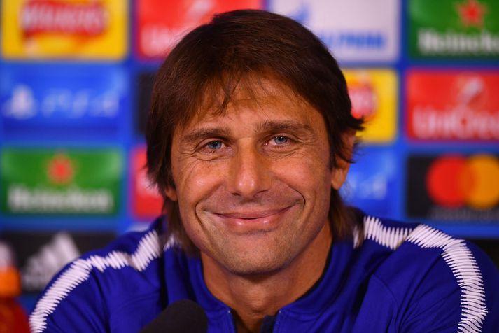 Antonio Conte, knattspyrnustjóri Chelsea.