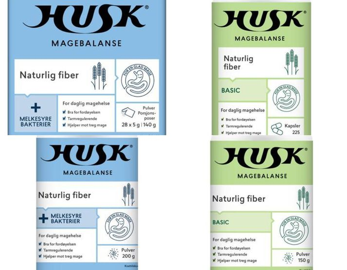 Vörurnar eru framleiddar af norska fyrirtækinu ORKLA Health AS og er meðal annars ætlað að auðvelda meltingu.