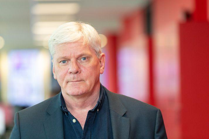 Kristinn Hrafnsson segir réttarfarslegan skandal að níu ár hafi tekið að komast að niðurstöðunni í dag.