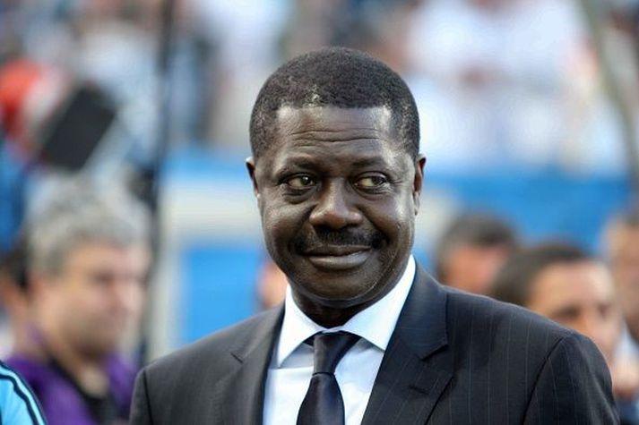 Pape Diouf var afar vinsæll á sínum tíma hjá Marseille en hann var fæddur í Senegal.