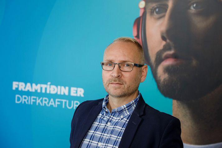 Svavar H. Viðarsson, nýráðinn deildarstjóri hjá Origo.