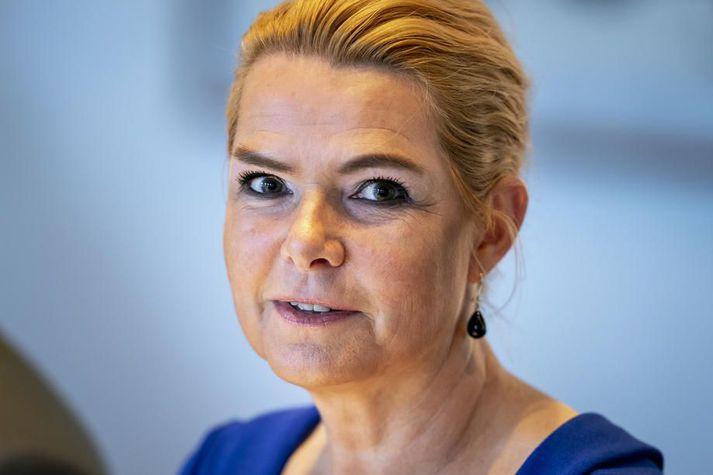 Inger Støjberg rak harða stefnu í innflytjendamálum frá 2015 til 2019. Hún er talin hafa brotið lög með tilmælum um að stía í sundur ungum pörum sem leituðu hælis í Danmörku.