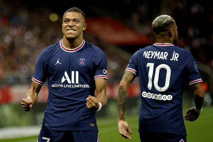 Kylian Mbappe hefur ekki viljað framlengja samning sinn við Paris Saint-Germain og er sagður vilja komast til Real Madrid.